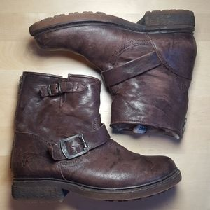 Frye Valerie Shearling Leather Boot